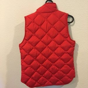 J. Crew Jackets & Coats - NWT J. Crew red quilted vest
